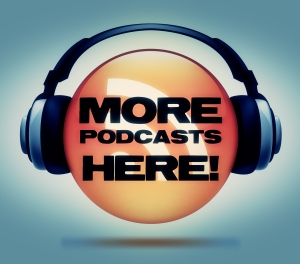 More Podcasts Here Logo