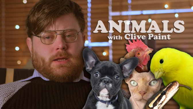ANIMALS with CLIVE PAINT