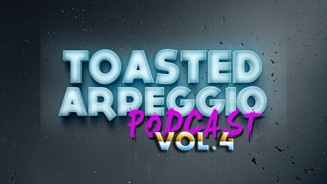 Toasted Arpeggio Podast Logo (Vol 4) for website