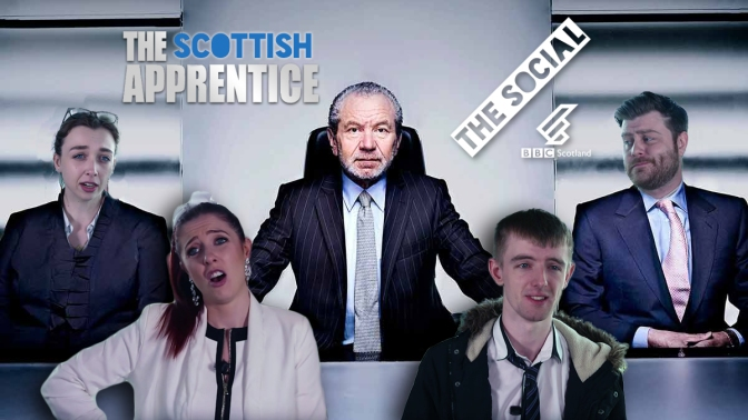 SCOTTISH CANDIDATES ON THE APPRENTICE