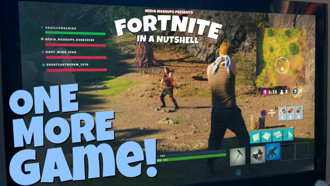 FORTNITE IN A NUTSHELL – ONE MORE GAME